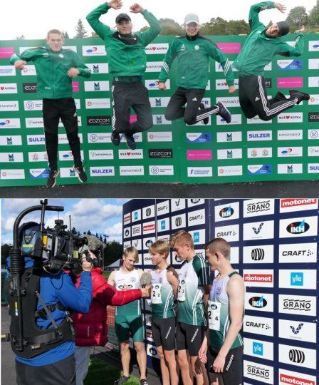 Drotts 19-års juniorer tog två medaljer vid stafett-FM i Kotka 12-13.9.2020, silver på 4x100m och brons på 4x100m häxk. Dessutom blev de 4e på 4x400m.
